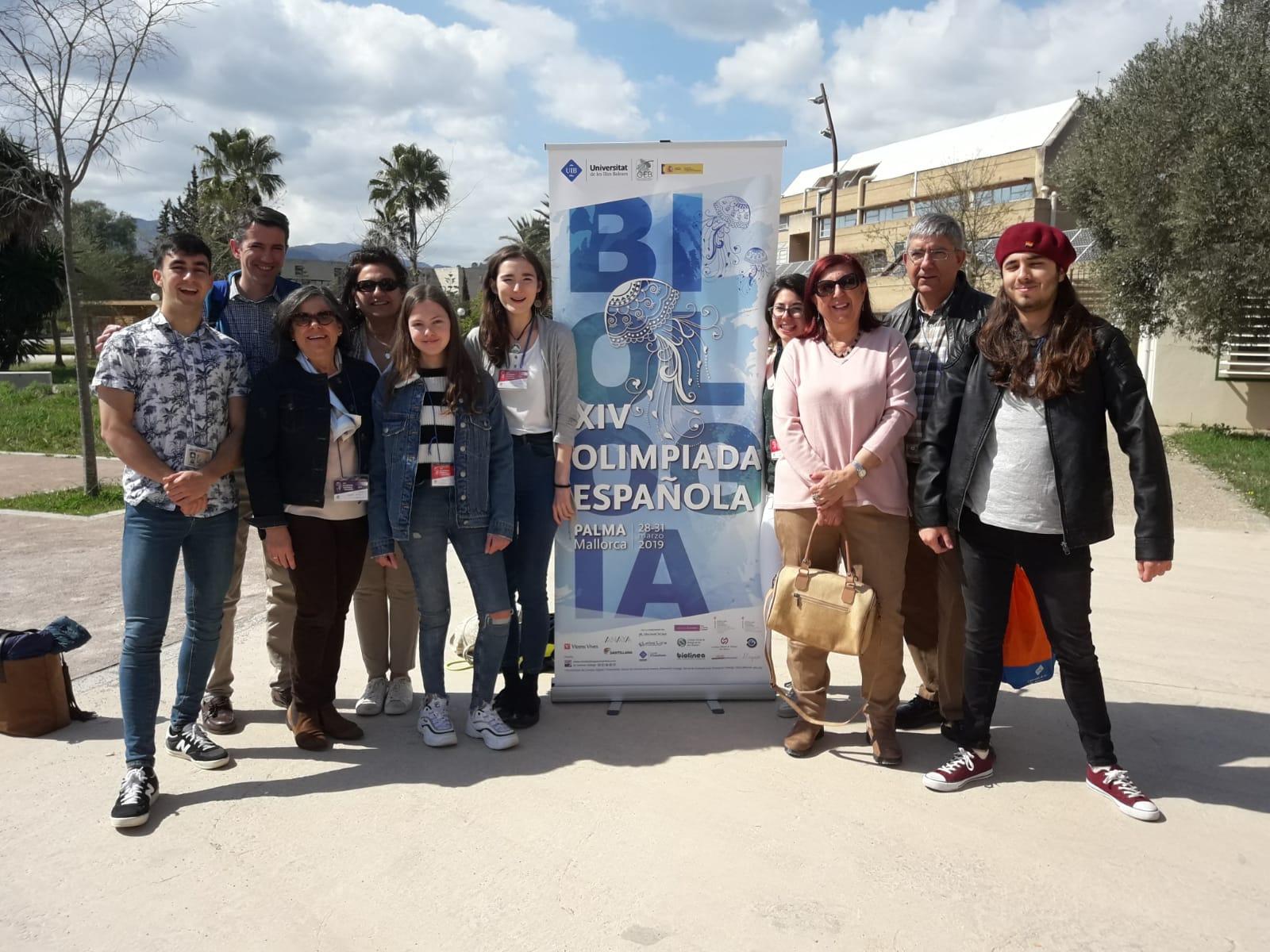 Delegación madrileña en la XIV OEB