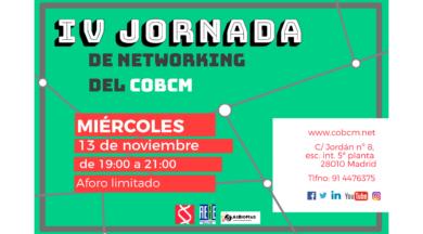 IV Jornada de Networking del COBCM