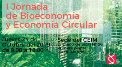 1ª Jornada sobre Bioeconomía y Economía Circular