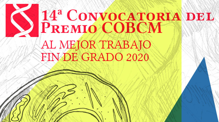 14ª convocatoria del Premio COBCM al mejor TFG 2020