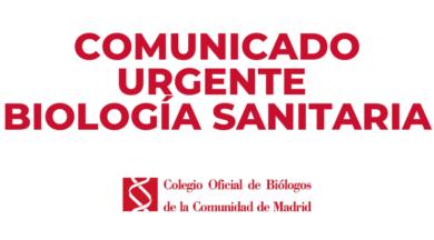 EL MINISTERIO DE SANIDAD INCUMPLE EL COMPROMISO DE REGULAR LA BIOLOGÍA SANITARIA