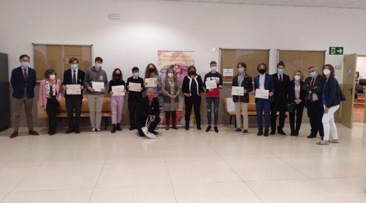 Entrega de premios de la XIX Olimpiada de Biología de la Comunidad de Madrid