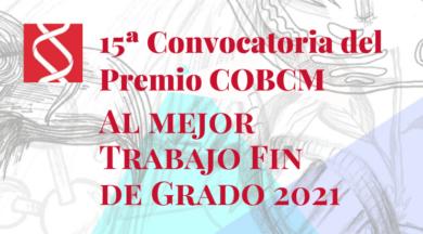 15ª Convocatoria del Premio COBCM al Mejor TFG 2021