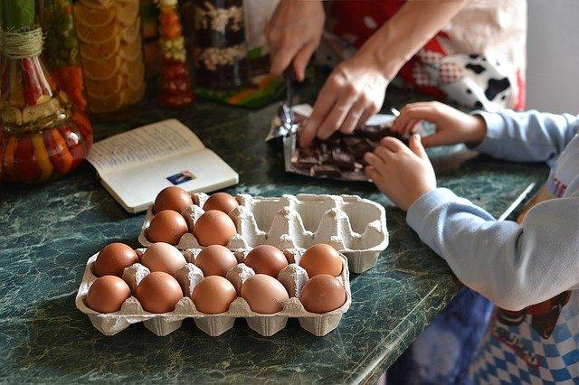 casa Covid-19 cocina niños